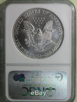 $1 1998 American Silver Eagle NGC MS70 Superb GEM BU AvenueCoin