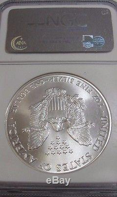 1986 $1 American Silver Eagle! Ngc Ms 70! Rare! Ideal! Collectible! Fc7007