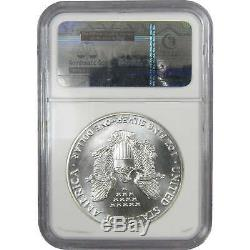 1986 $1 American Eagle. 999 1 oz Silver Dollar MS 70 NGC First Year of Issue