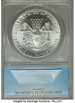 1986 $1 American Silver Eagle Anacs Ms70 First Year Of Issue Better Date