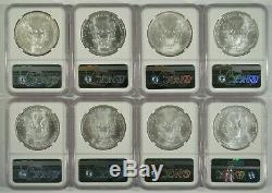 1986-2005 American Silver Eagle $1 20 Coin Set NGC MS69