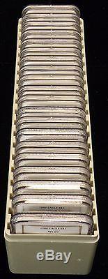 1986-2005 NGC MS69 American Silver Eagle 20-Coin Box Set (JL)