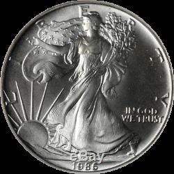 1986 2005 Silver American Eagle $1 NGC MS69 20th Anniversary 20 Coin Set STOCK