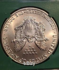 1986 2017 American Silver Eagle Set 1$ NGC MS69 From Us Mint Sealed Monster Box