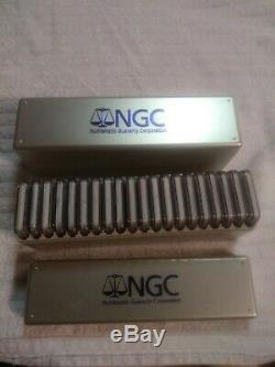 1986-2020 American Silver Eagle 35-pc Set NGC MS69 (2 NGC Boxes)
