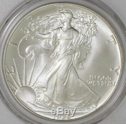 1986 American Silver Eagle $ #939315-1 MS70 PCGS