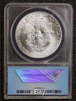 1986 American Silver Eagle Anacs Ms70 First Year Of Issue Rare