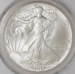 1986 $ American Silver Eagle MS70 PCGS