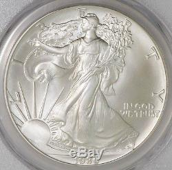1986 American Silver Eagle $ MS70 PCGS