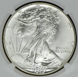 1986 American Silver Eagle NGC MS70 First Year of Issue