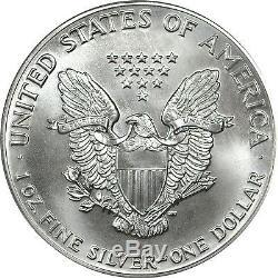 1986 American Silver Eagle PCGS MS70 Scarce