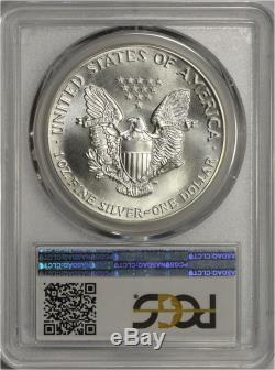 1986 American Silver Eagle PCGS MS70 TOP POP