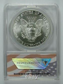 1986 P American Silver Eagle ANACS MS70