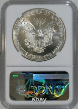 1986-S Silver American Eagle NGC MS69 / First Year / Minted in San Francisco