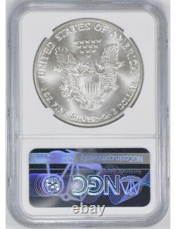1986 (S) Silver American Eagle NGC MS70 Bridge Label