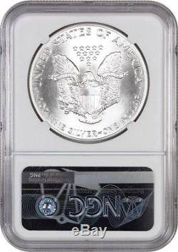 1986 Silver Eagle $1 NGC MS70 American Eagle Silver Dollar ASE