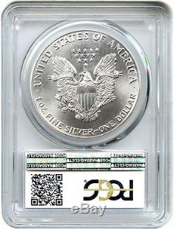 1986 Silver Eagle $1 PCGS MS70 American Eagle Silver Dollar ASE