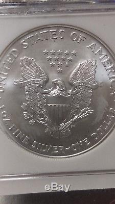 1987-2006 Silver-American-Eagle Set / Collection NGC-MS69