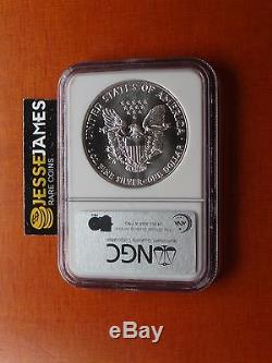 1987 American Silver Eagle Ngc Ms70 Top Pop Beautiful Coin