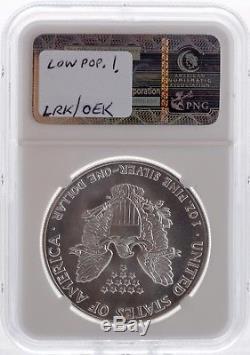 1987 American Eagle Silver Dollar 1 oz $1 NGC MS70 Rare
