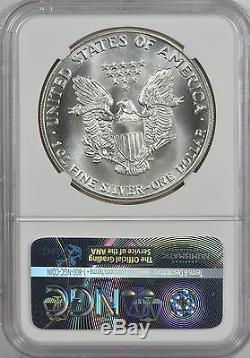 1987 American Silver Eagle NGC MS70