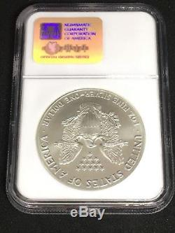 1987 Silver American Eagle MS 70 (NGC)
