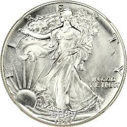 1987 Silver Eagle $1 NGC MS70 American Eagle Silver Dollar ASE