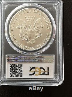 1988 American Silver Eagle Ms70 Pcgs Top Registry Coin