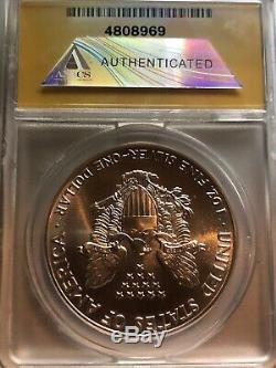 1988 American Silver Eagle ANACS Certified MS 70