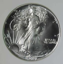 1988 American Silver Eagle ASE 1oz. 999 Coin NGC Graded MS70