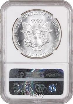 1988 Silver Eagle $1 NGC MS70 American Eagle Silver Dollar ASE