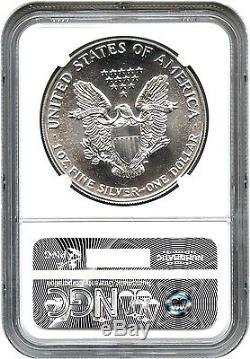 1988 Silver Eagle $1 NGC MS70 Rare Grade American Eagle Silver Dollar ASE