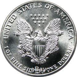 1988 Silver Eagle $1 PCGS MS70 American Eagle Silver Dollar ASE