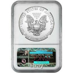 1989 $1 American Silver Eagle NGC MS70 Brown Label