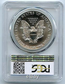 1989 $1 American Silver Eagle PCGS MS 70 Population 58 (PCGS)