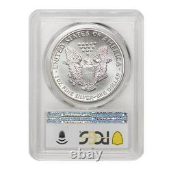 1989 $1 American Silver Eagle PCGS MS70 graded 1 oz. 999 Modern Bullion Coin