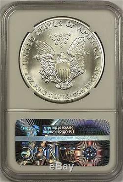 1989 American Silver Eagle NGC MS70 Scarce