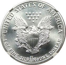 1989 Silver Eagle $1 NGC MS70 American Eagle Silver Dollar ASE