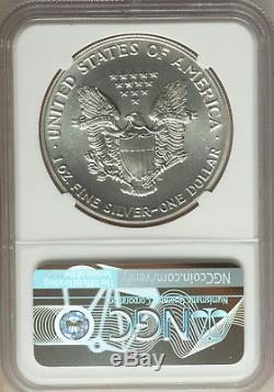 1991 American Silver Eagle $1 NGC MS70