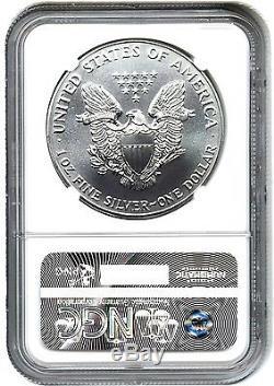 1991 Silver Eagle $1 NGC MS70 American Eagle Silver Dollar ASE Key Rarity