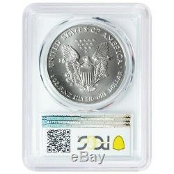 1992 $1 American Silver Eagle PCGS MS70 Blue Label