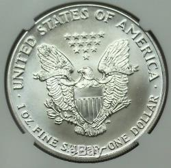 1992 American Silver Eagle NGC MS70 ASE $1 Key Date. 999 1oz Bullion US Coin