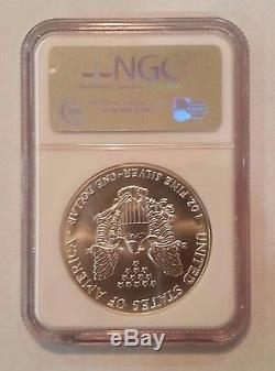 1992 American Silver Eagle NGC MS70 First Strikes Rare Label