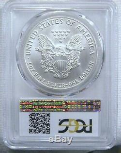 1992 American Silver Eagle PCGS MS-70