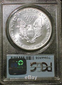 1993 911 American Silver Eagle Wtc Ground Zero Recovery Ms69 Very Rare