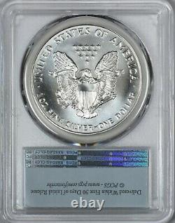 1993 American Silver Eagle PCGS MS69 First Strike