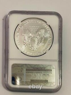 1993 NGC MS70 American Silver Eagle RARE FLAWLESS/PERFECT ONLY 400 In MS70