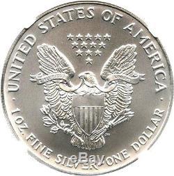 1993 Silver Eagle $1 NGC MS70 American Eagle Silver Dollar ASE