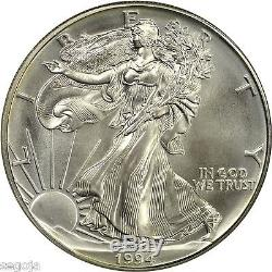 1994 American Silver Eagle 20th Anniversary Collection NGC MS70 Very Scarce