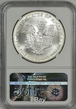 1994 American Silver Eagle NGC MS70